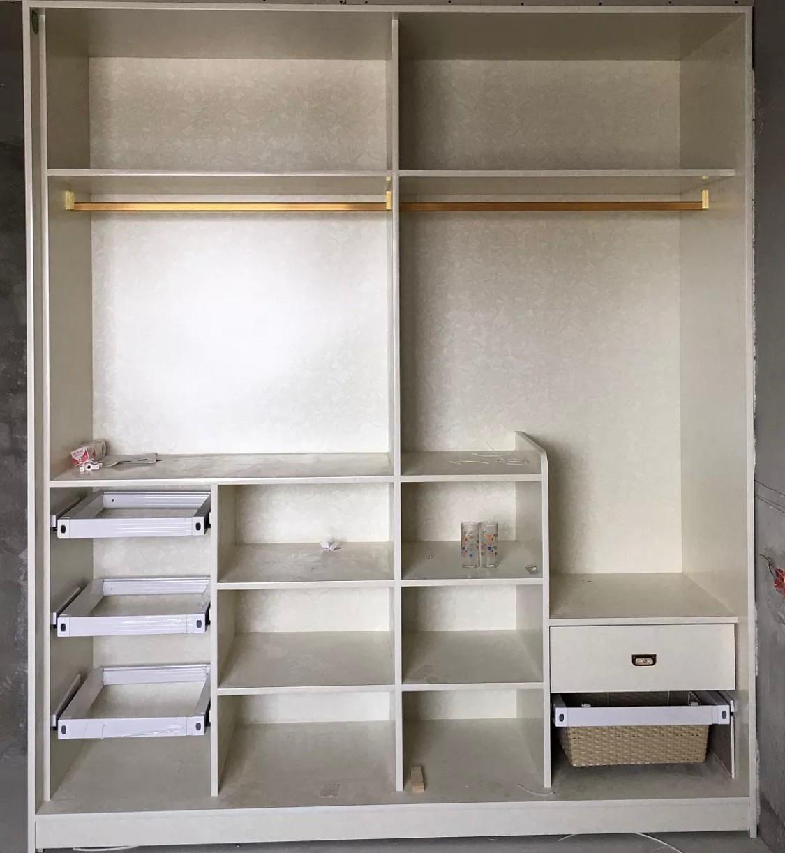 【家居】超全衣柜内部结构设计