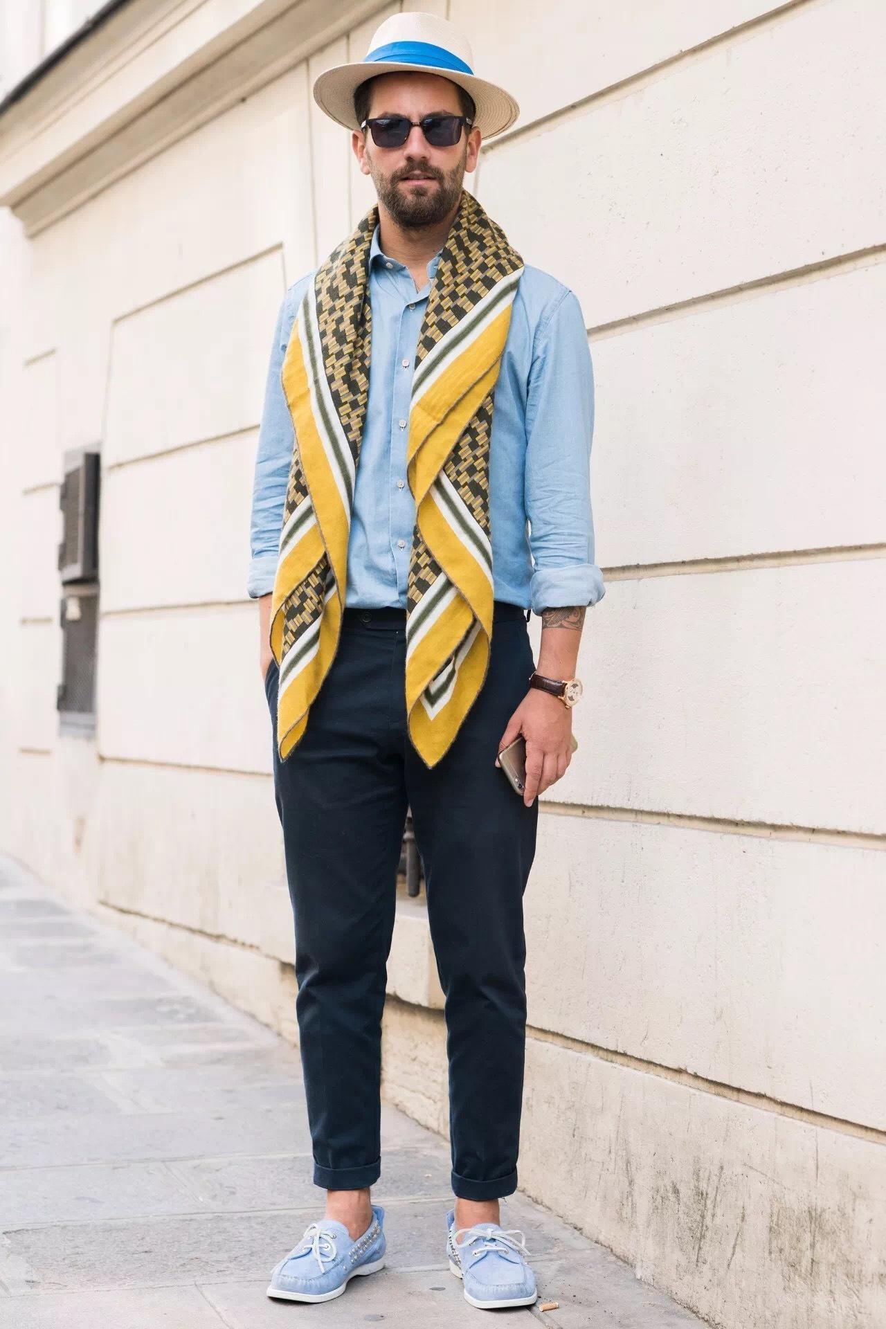 过渡季,型男们怎么玩转穿衣Style? 3
