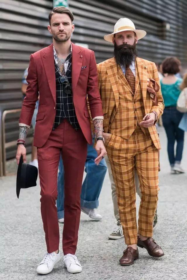 绅士最爱的格纹西装不会穿?我来教你呀 ! 14