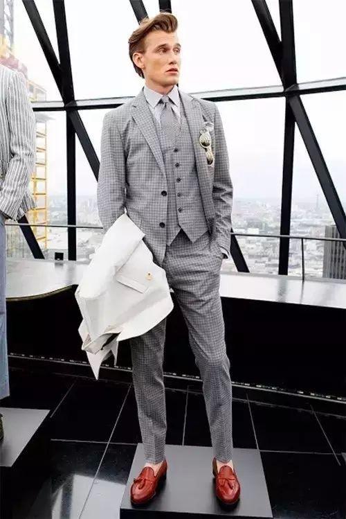 绅士最爱的格纹西装不会穿?我来教你呀 ! 40