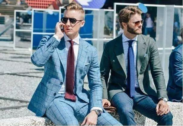 绅士最爱的格纹西装不会穿?我来教你呀 ! 5
