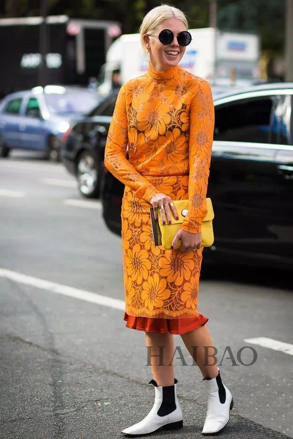 秋季要穿长裙+短靴,又仙又帅好看到犯规! 43
