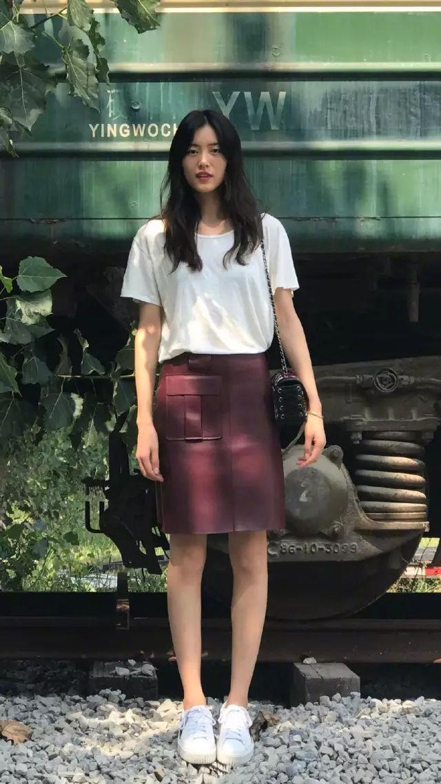 裙子+平底鞋,刘雯教你穿出超模范儿! 3