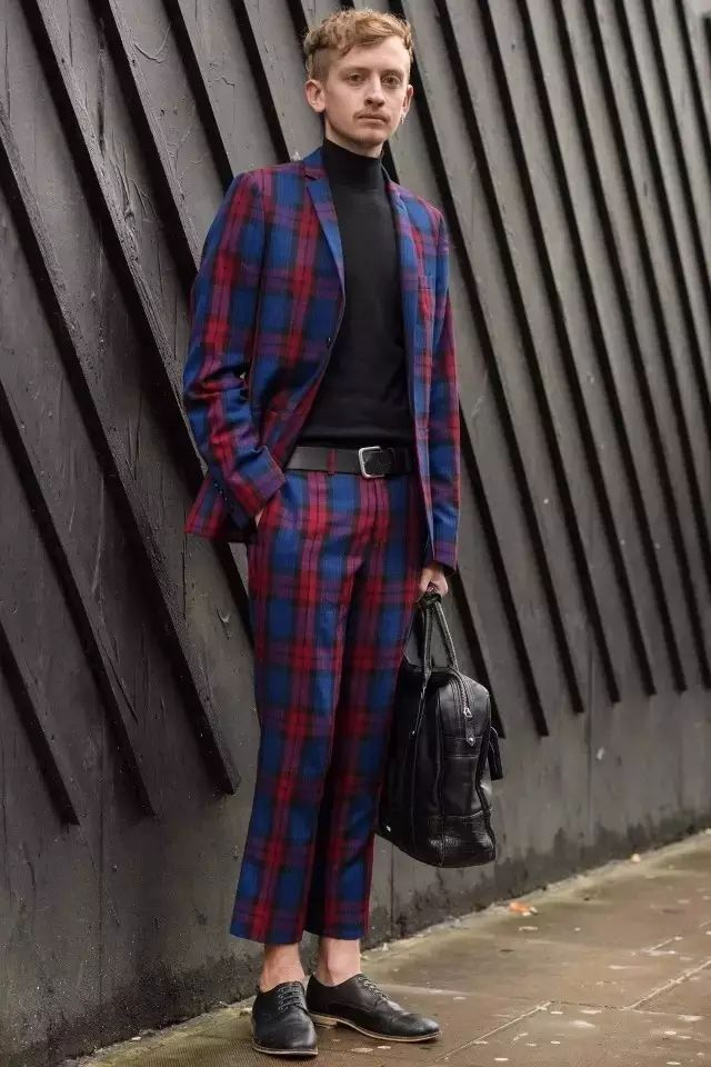 绅士最爱的格纹西装不会穿?我来教你呀 ! 28