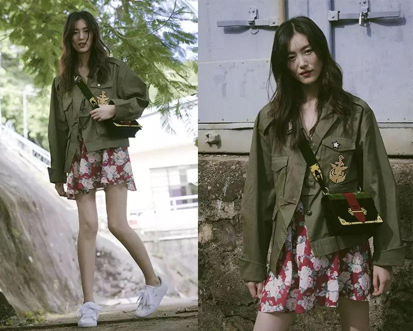 裙子+平底鞋,刘雯教你穿出超模范儿! 2