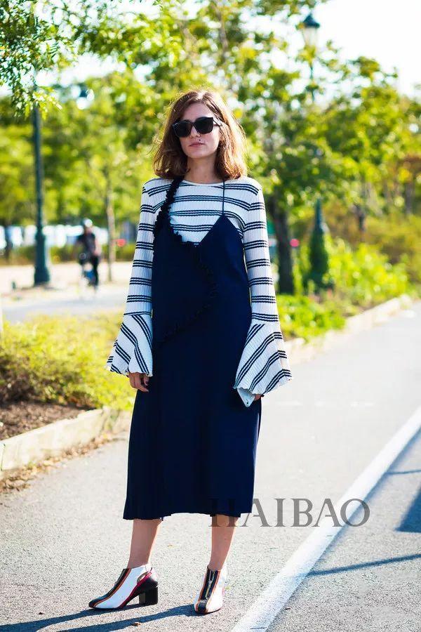 秋季要穿长裙+短靴,又仙又帅好看到犯规! 23
