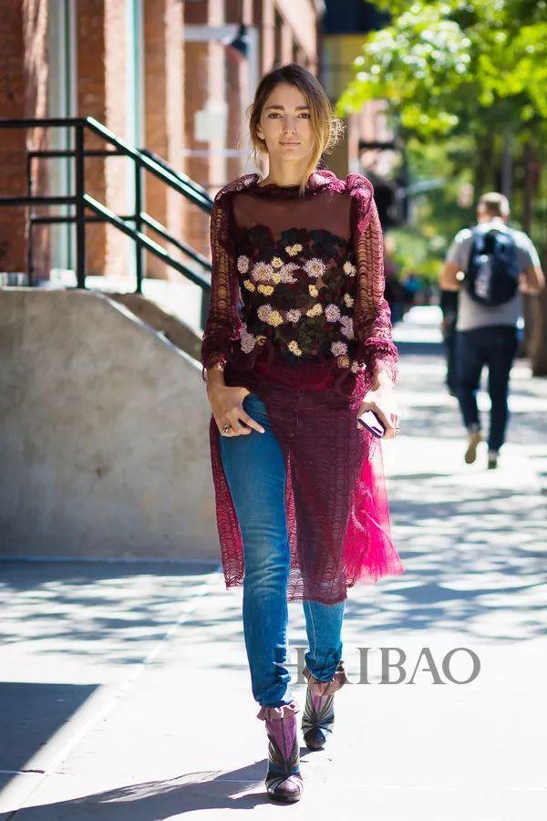 秋季要穿长裙+短靴,又仙又帅好看到犯规! 38