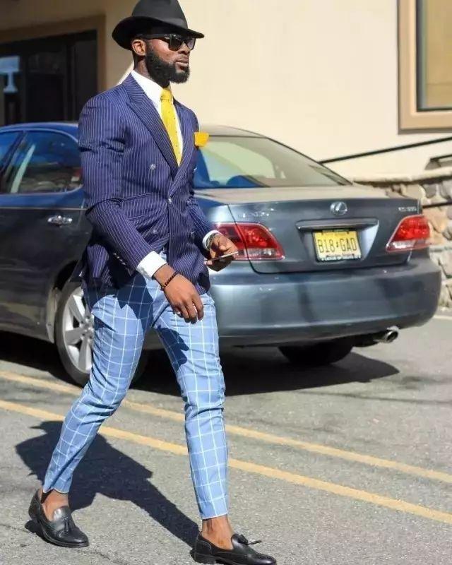 绅士最爱的格纹西装不会穿?我来教你呀 ! 36