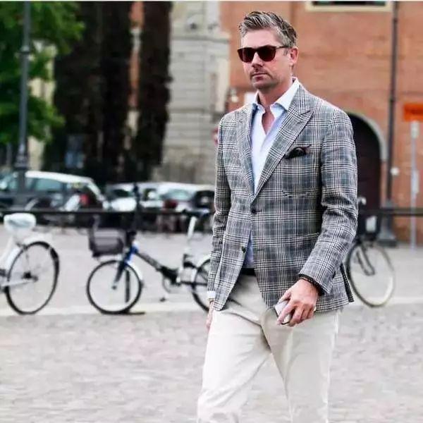 绅士最爱的格纹西装不会穿?我来教你呀 ! 34