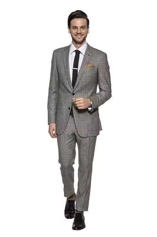 绅士最爱的格纹西装不会穿?我来教你呀 ! 10