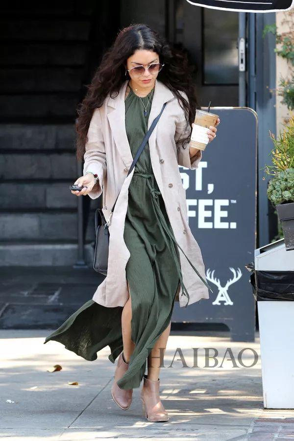 秋季要穿长裙+短靴,又仙又帅好看到犯规! 5