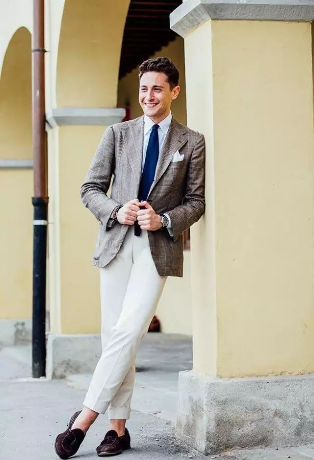 绅士最爱的格纹西装不会穿?我来教你呀 ! 35