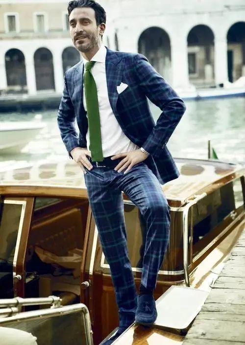 绅士最爱的格纹西装不会穿?我来教你呀 ! 21