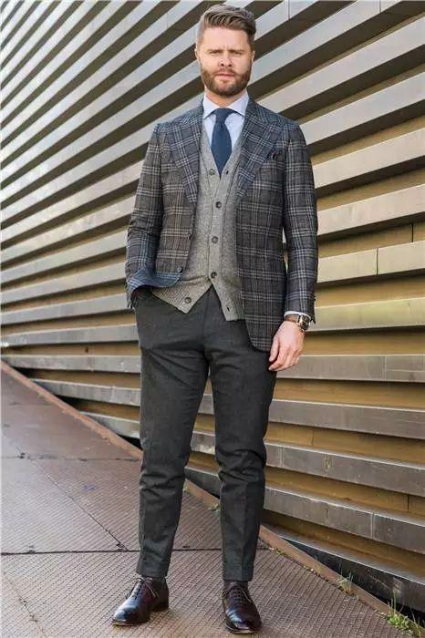 绅士最爱的格纹西装不会穿?我来教你呀 ! 37