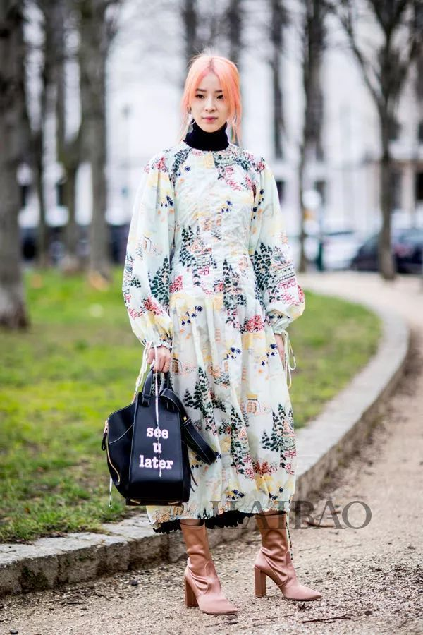 秋季要穿长裙+短靴,又仙又帅好看到犯规! 32