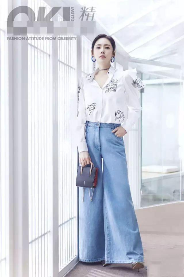 秋瓷炫早秋街拍大片,时尚穿搭尽显优雅 5