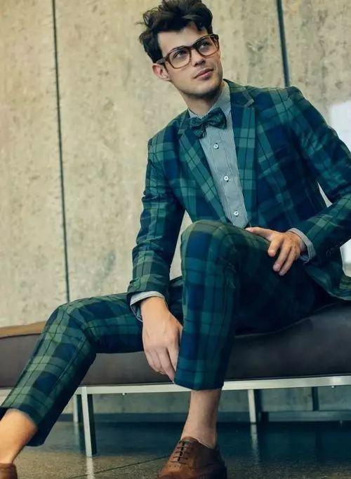 绅士最爱的格纹西装不会穿?我来教你呀 ! 11