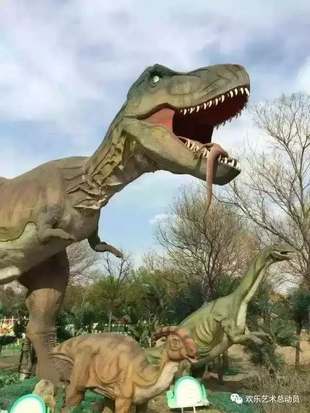 废旧恐龙手工制作图片