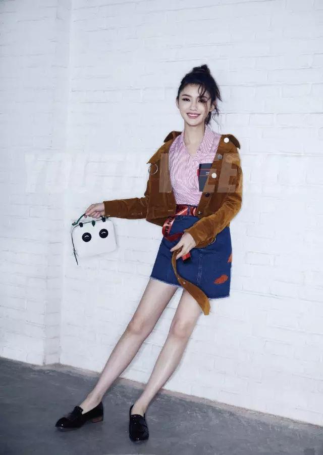 裙子+平底鞋,刘雯教你穿出超模范儿! 4