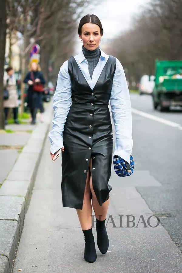 秋季要穿长裙+短靴,又仙又帅好看到犯规! 27