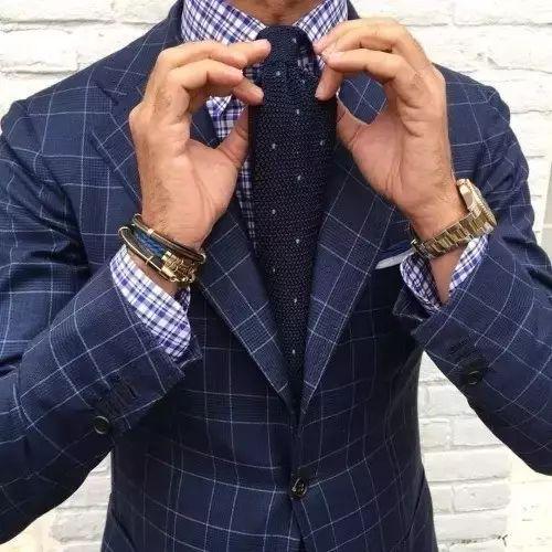 绅士最爱的格纹西装不会穿?我来教你呀 ! 22