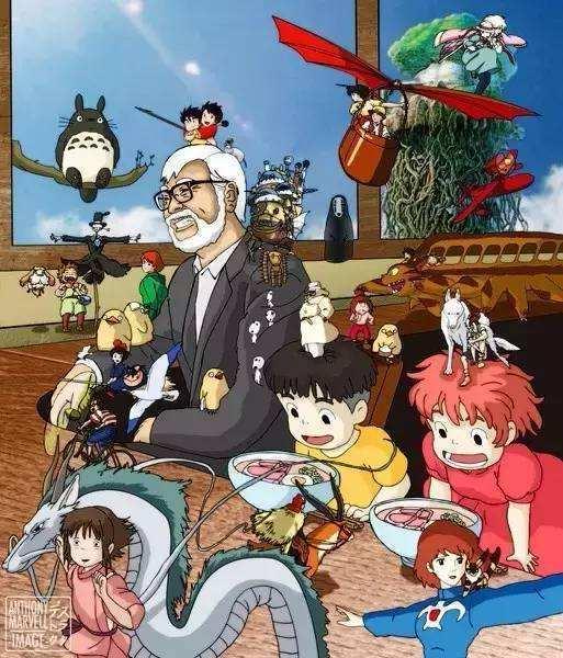 万万没想到 漫画家宫崎骏还有这样一种身份 12