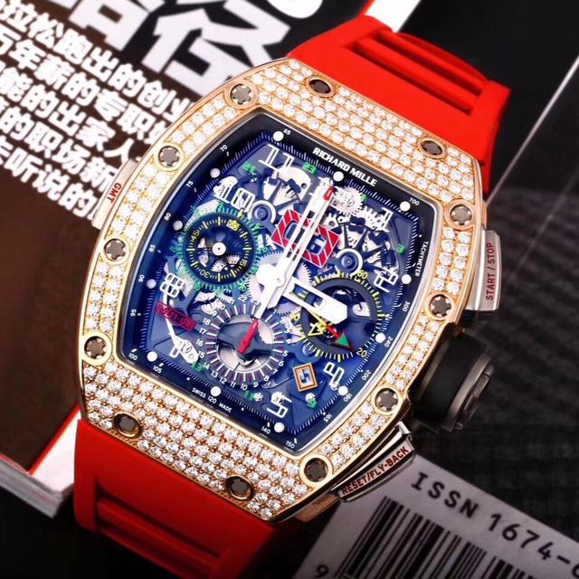深圳理查德米勒RM011款式太多,手表回收价格相差几十万