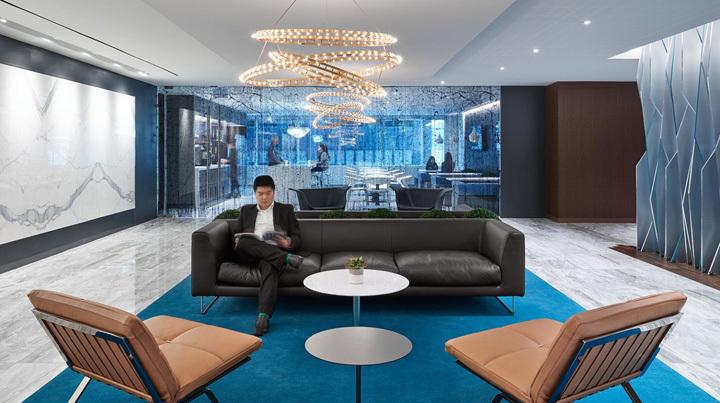 律师事务所办公室装修设计休闲等候区