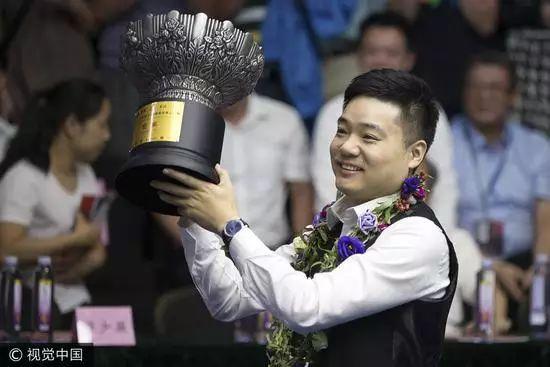丁俊晖一个冠军创三项纪录7战7捷排名超希金斯