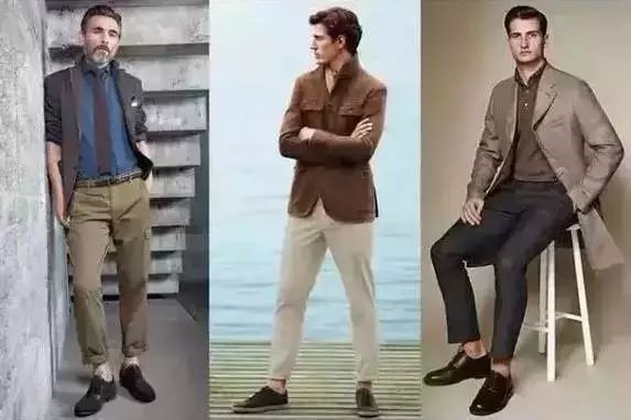 男装调色板,照着调色板穿衣,怎么搭怎么好看哦!