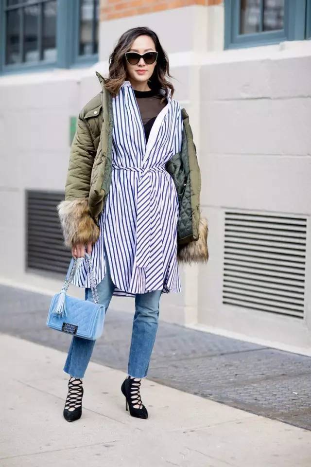 秋季,裙子+裤子,你知不知道这样穿会很潮?