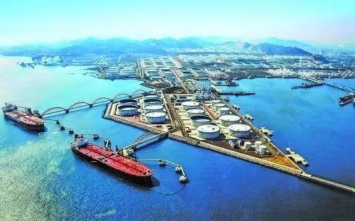 涨知识:山东省原油码头,保税港区,保税罐及原油管线