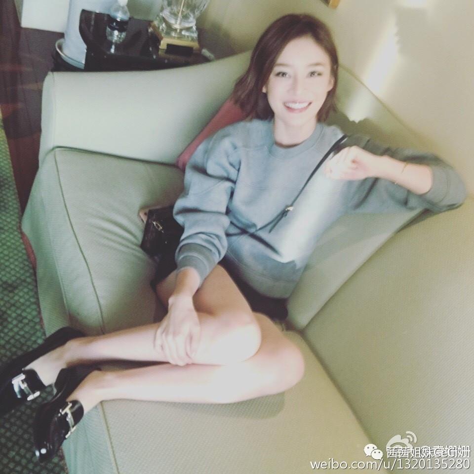 除不掉大腿赘肉,怎能像袁姗姗这样大方露腿?