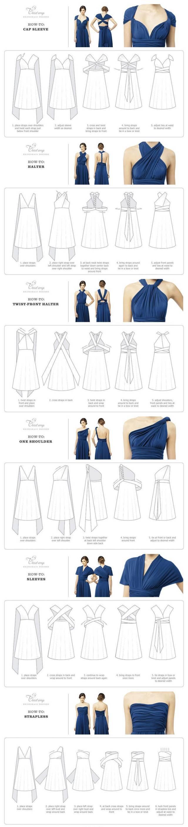 版师必备|图解6种礼服领口设计 常见领口分类 五种常见领型立裁图解