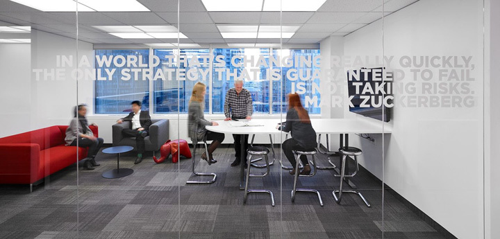 律师事务所办公室会议室装修设计实景