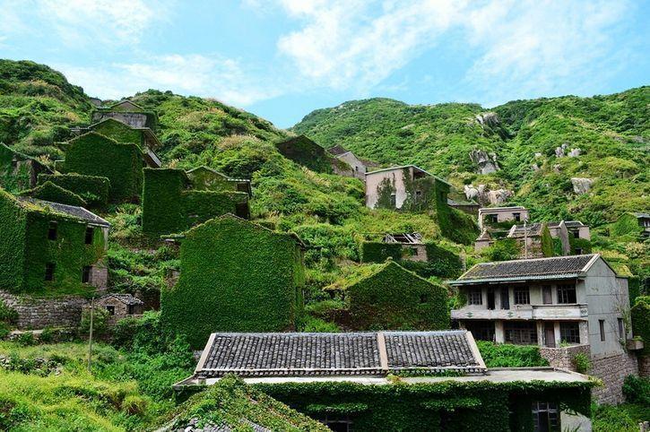 浙江舟山竟然藏着一个无人村?绿野遍布宛如