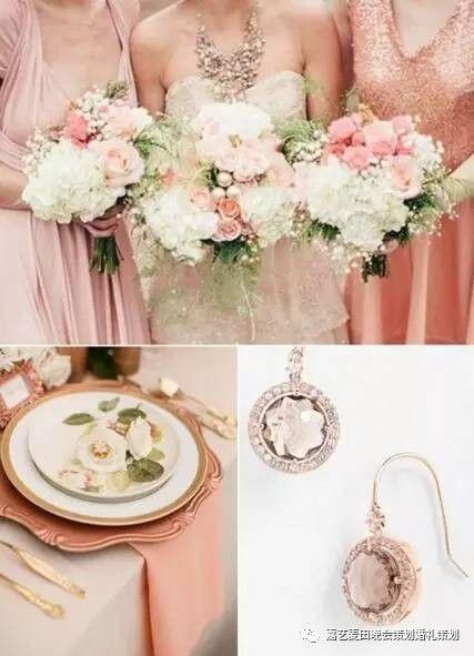 90后小清新婚礼的七种婚礼配色方案 4