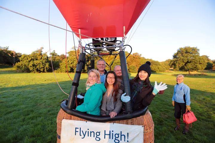 英伦田园风光上的热气球之旅-布里斯托