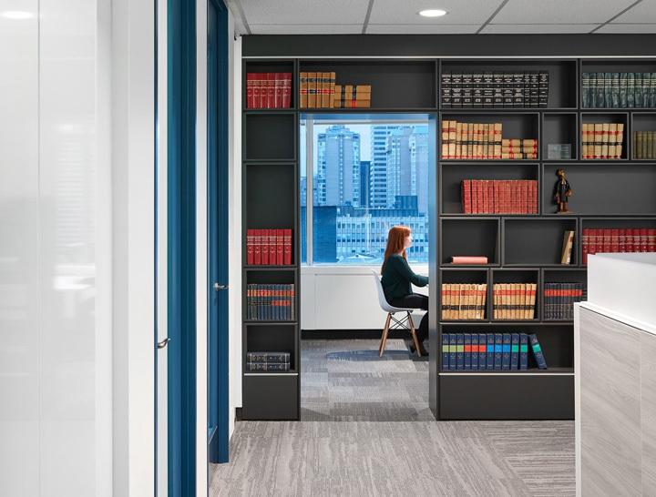 律师事务所办公室装修设计装修实景图