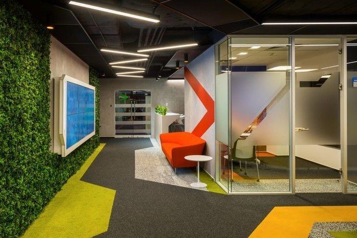 各具特色的办公空间设计参考案例