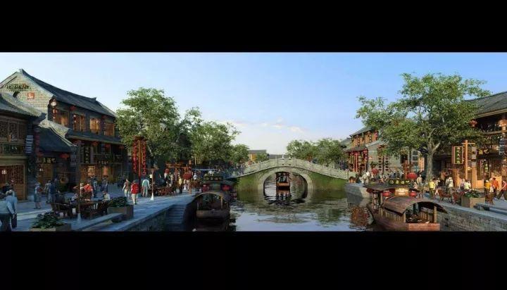 国家特色项目计划了国家4a级景区学期酒文化博览园及数个古井平面设计小镇涵盖图片