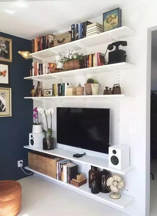 电视柜(充满传奇)用搁板就很好,衣柜简单包括diy的经济,还蛮好看的乐趣操作指南图片