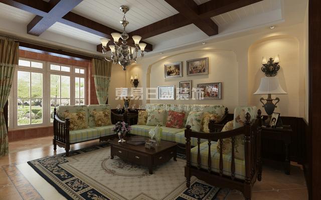 140平米三居简美风格,电视背景墙真漂亮!