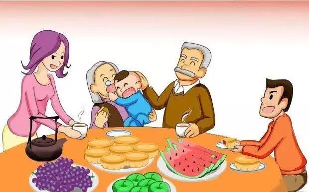 中秋佳节是家人团聚的美好日子,-中秋节妈妈喊我回家吃饭了