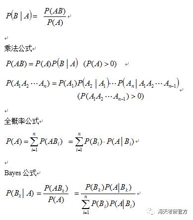 离散数学总结_【考研数学】2018考研数学七大必考部分公式总结