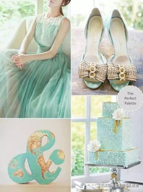 90后小清新婚礼的七种婚礼配色方案 2
