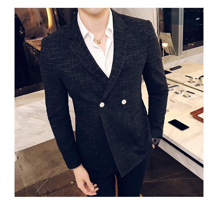 AMHA男士黑色西服搭配 做最迷人的正装男人1
