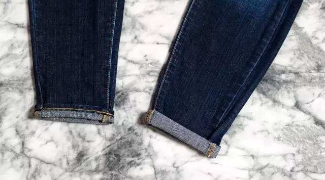 还在穿紧身裤?今年翻边牛仔裤才最火!
