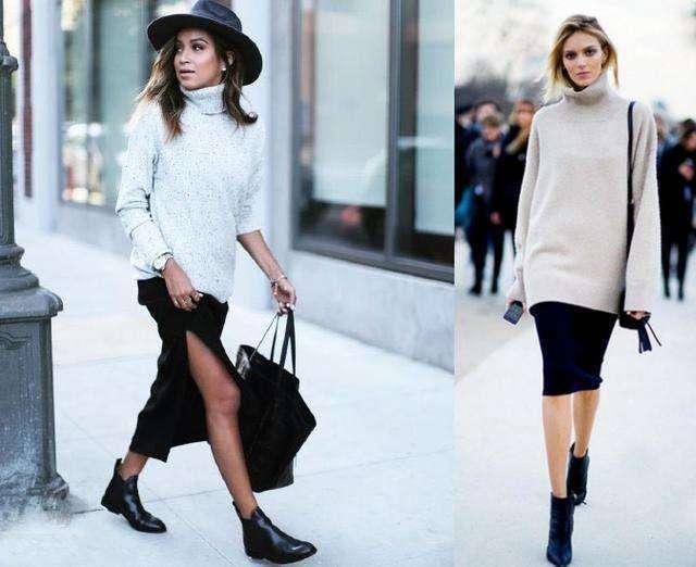衣柜里最实用的一条裙子, 可以一直穿到冬天 9
