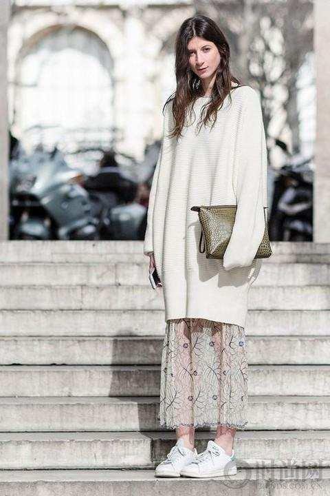 衣柜里最实用的一条裙子, 可以一直穿到冬天 7